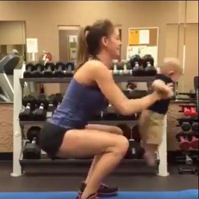 Bebeklerle Antrenman Nasıl Yapılır?